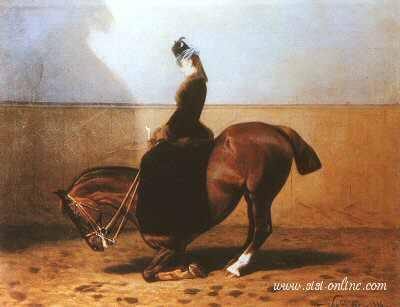 Sisi op haar paard …